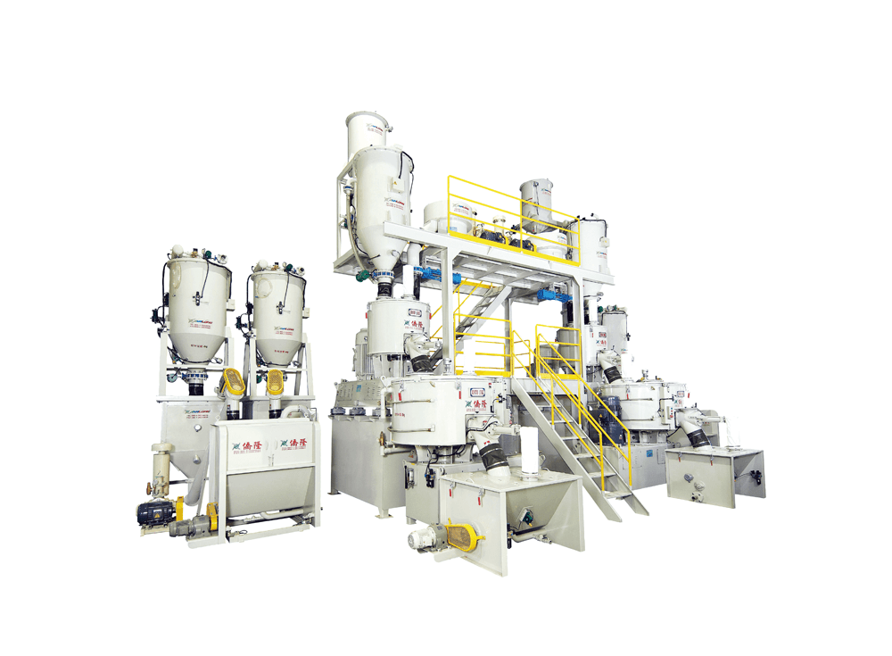 Fully Automatic Mixing、Weighing & Conveying System