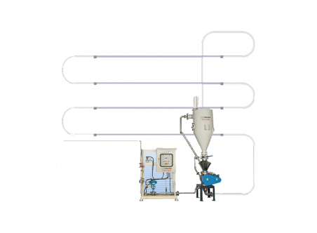 High Pressure Low Speed Conveying System (For Pellets)