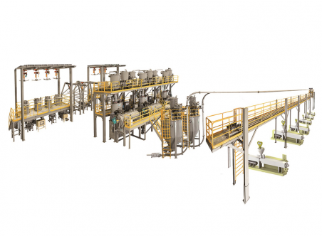 Automatic Metering, Mixing & Chain Conveying System