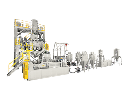 Twin Screw Pelletizing System
