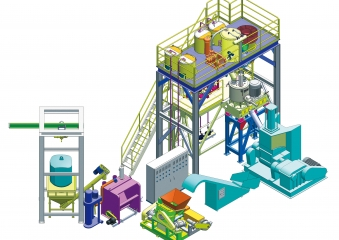AUTOMATIC FEEDING & WEIGHING SYSTEM