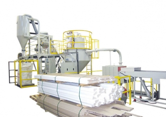 PROCESSING OF PVC & WOOD FROM CRUSHING TO PULVERIZING